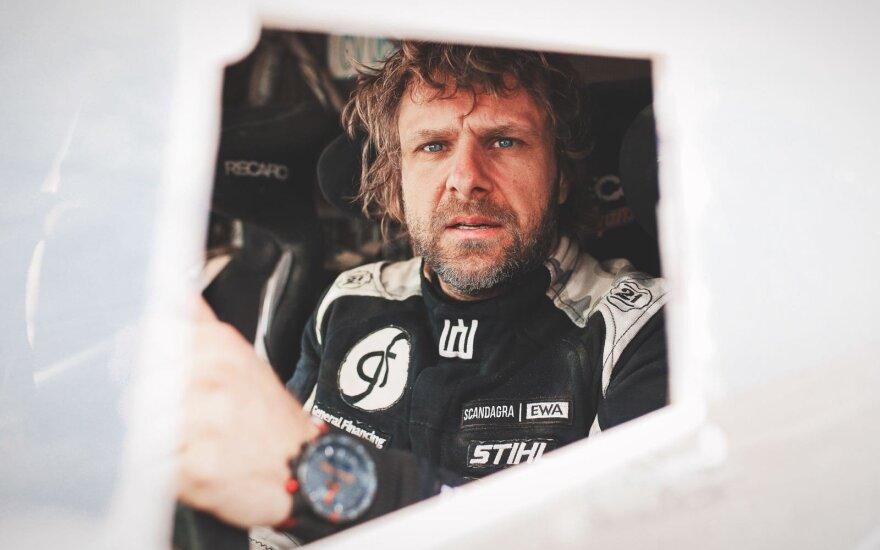 Benediktas Vanagas penktajame Dakaro etape