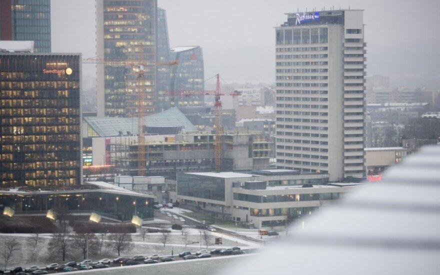Orai: šalį užgrius krituliai, bet sniegu džiaugsimės trumpai