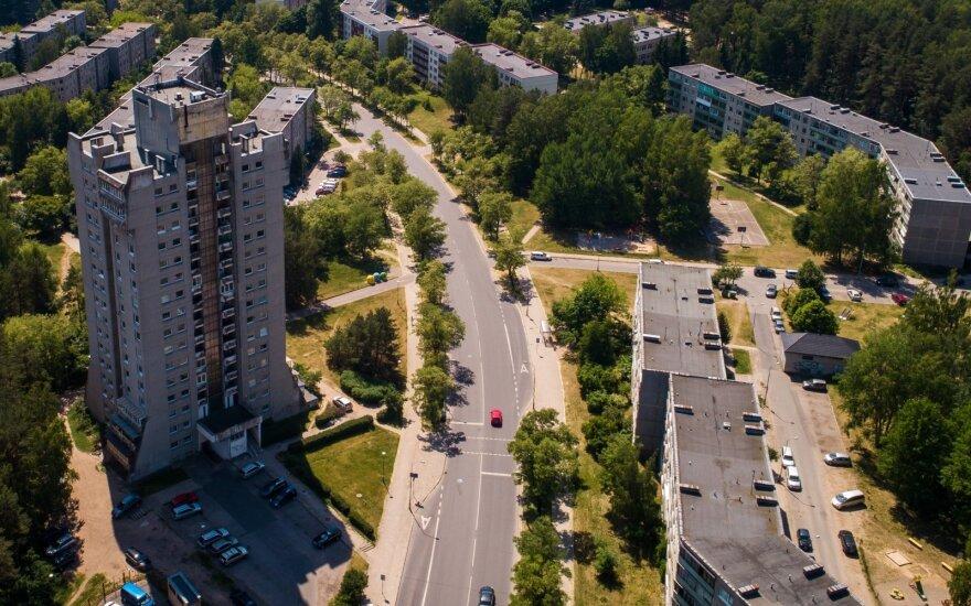 Sovietmečiu pavyzdiniu buvęs Vilniaus mikrorajonas šiandien vis dar laukia savo progos: vystytojai lūkuriuoja