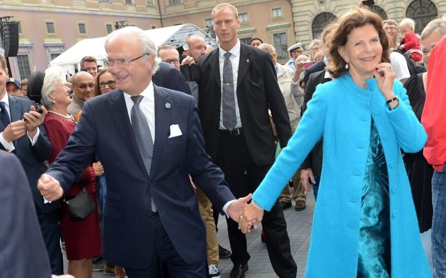 Carl XVI Gustaf of Sweden and Queen Silvia