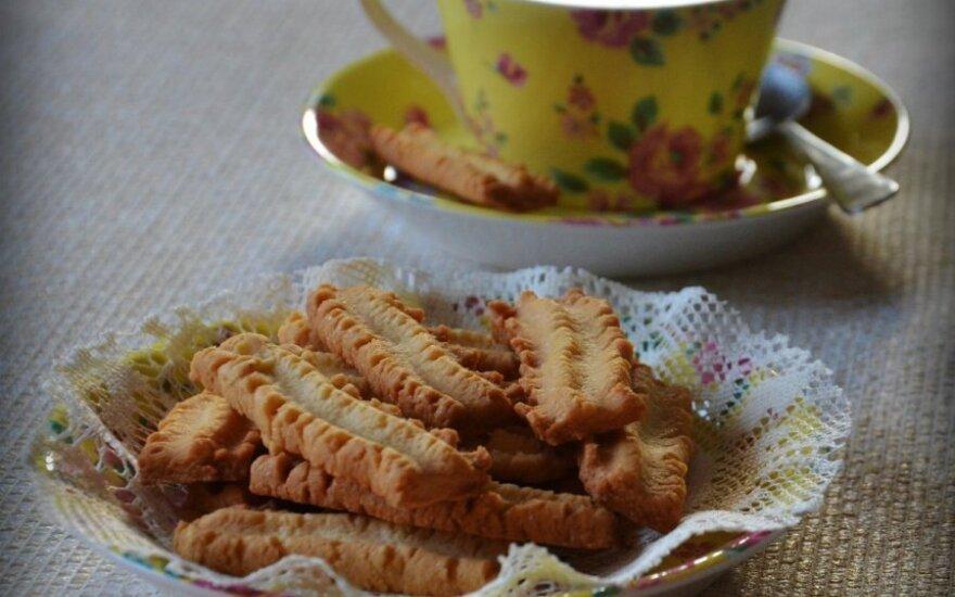 Sviestiniai močiutės sausainiai