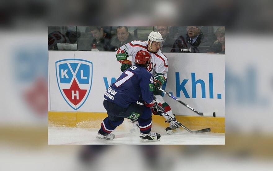 """SKA - """"Ak Bars"""" rungtynės Vilniuje"""