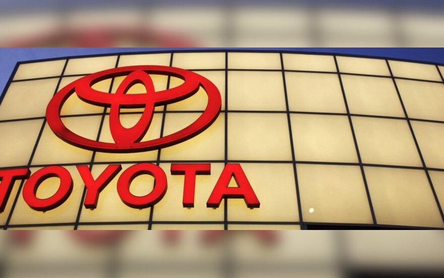 """""""Toyota"""" atstatė gamybą Japonijoje"""