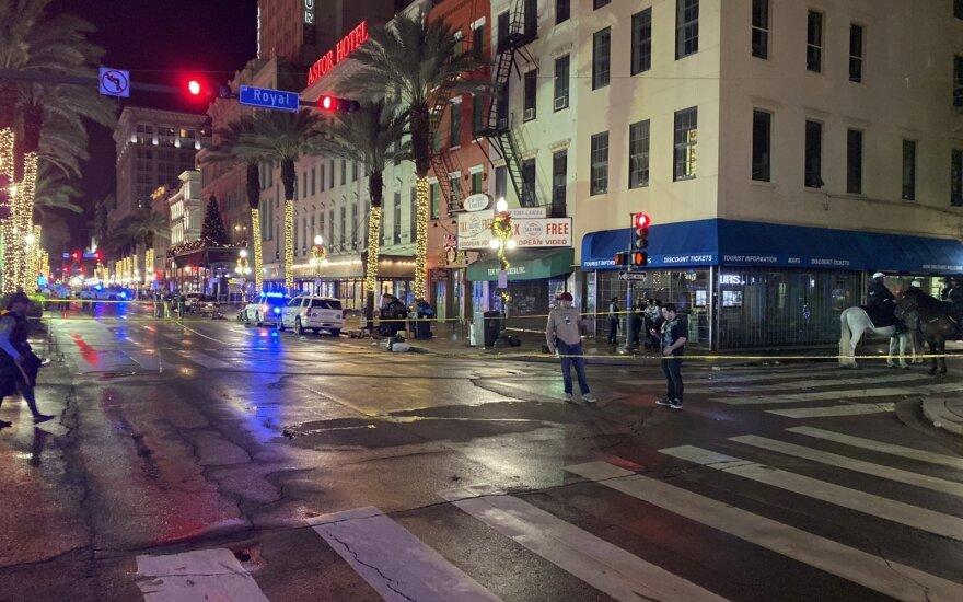 Naujojo Orleano Prancūzų kvartale per šaudymą sužaloti 11 žmonių