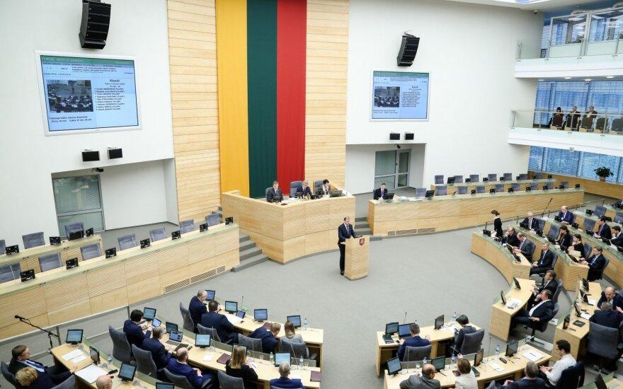 In the Seimas