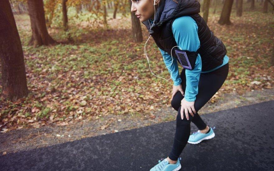 Ką daryti, kad bėgimas nesibaigtų trauma?