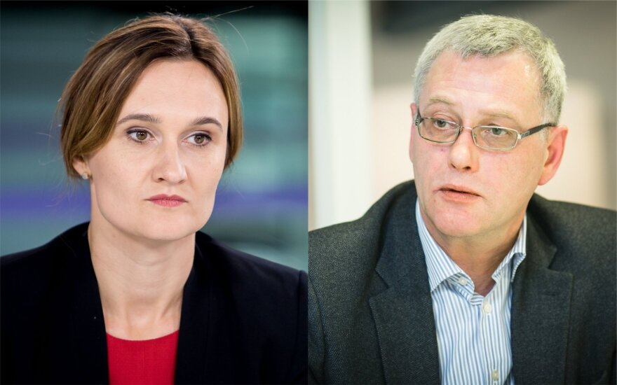 Viktorija Čmilytė-Nielsen, Raimundas Lopata