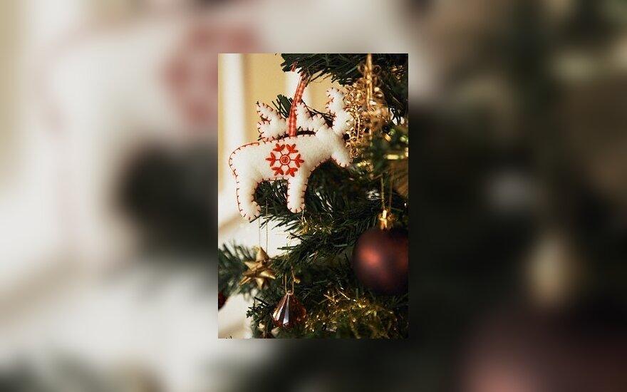 Kalėdos, eglutė