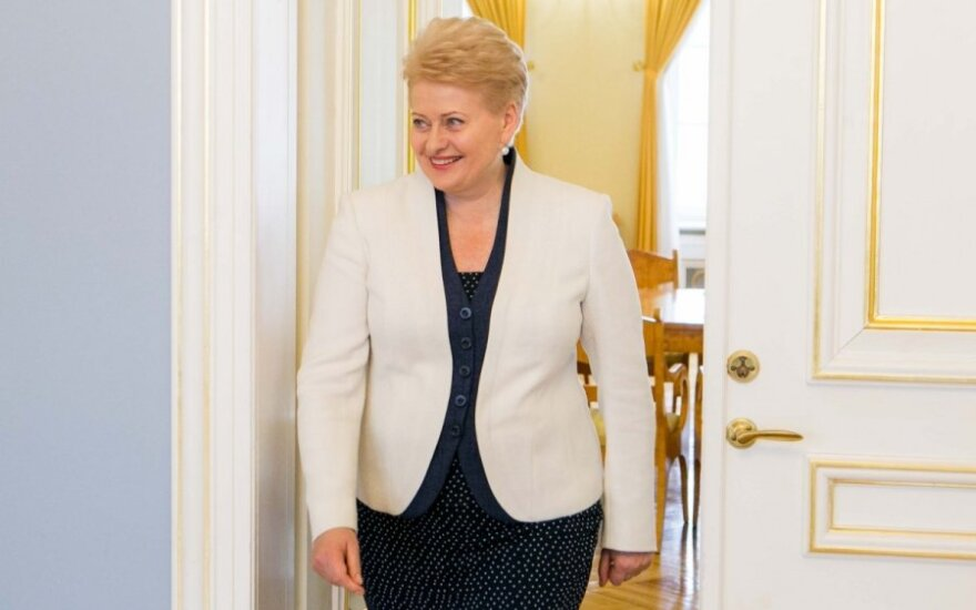 Lithuanian president hopes for closer cooperation with South Korea and India