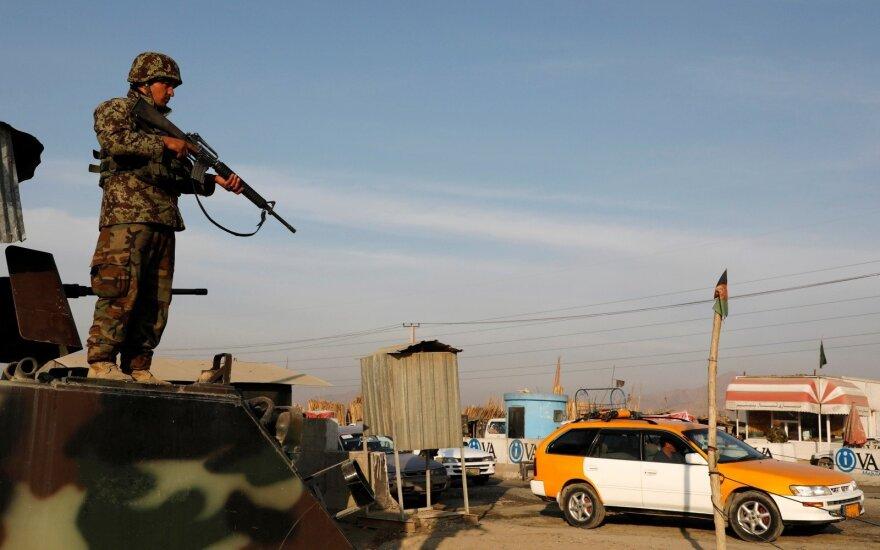 Afganistano armijos karys Kabule