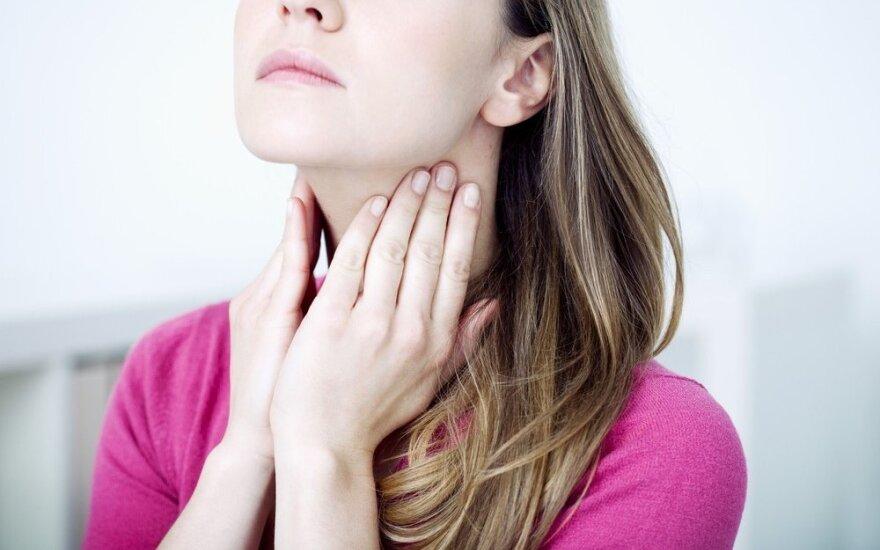 Gerklės skausmas gali signalizuoti apie ypač rimtas ligas