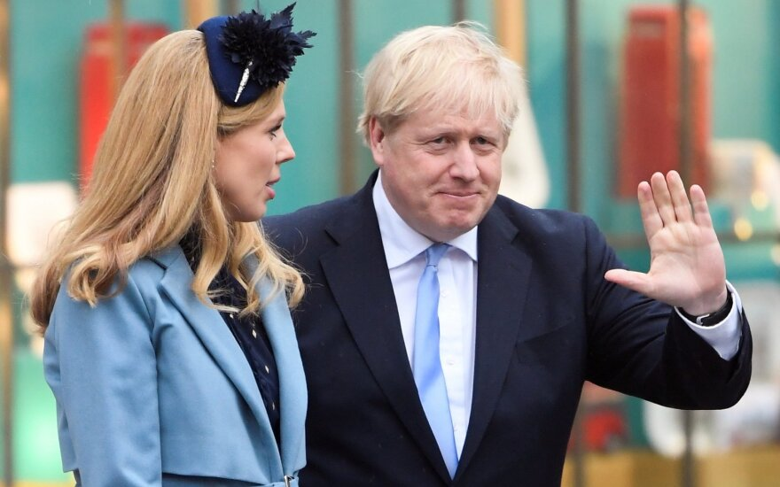 Borisas Johnsonas, Carrie Symonds