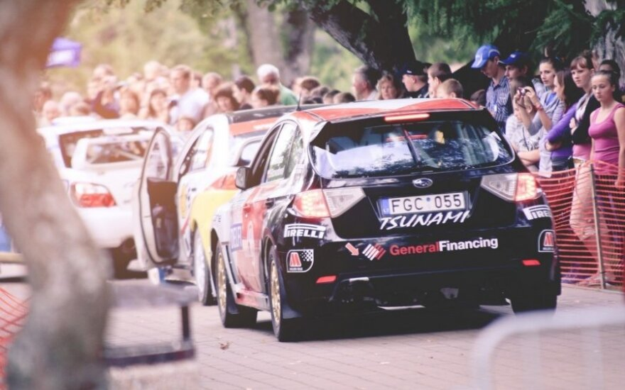 """""""300 Lakes Rally"""" (T.Tunylos nuotr.)"""