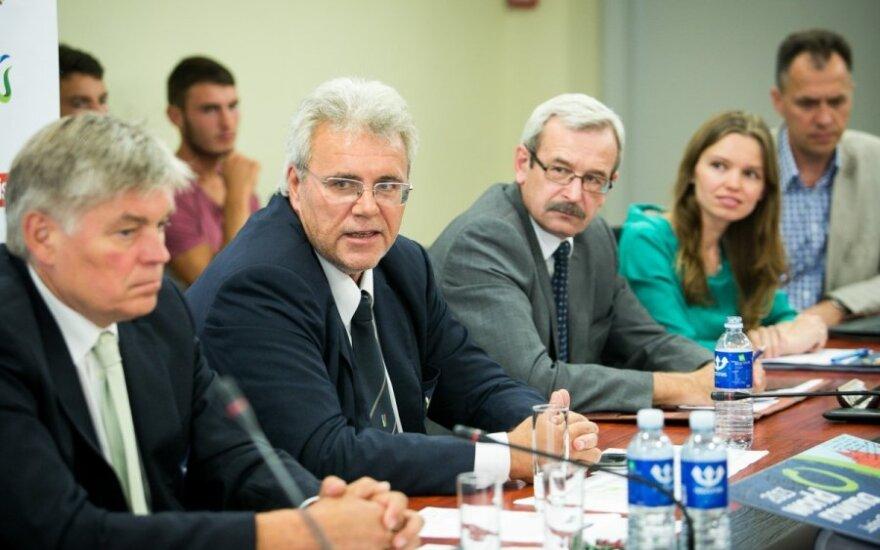 Lietuvos irklavimo federacijos spaudos konferencija