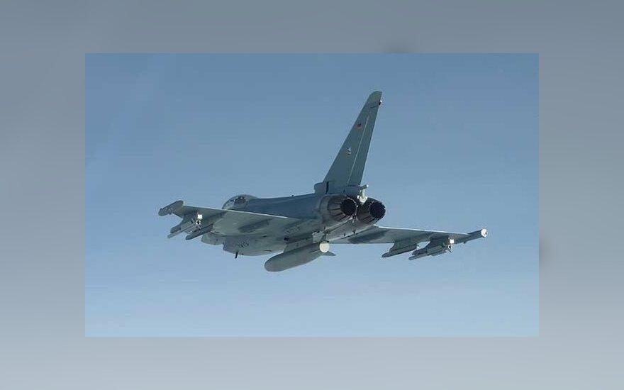 NATO naikintuvai iš Estijos lydėjo rusų žvalgybinį orlaivį