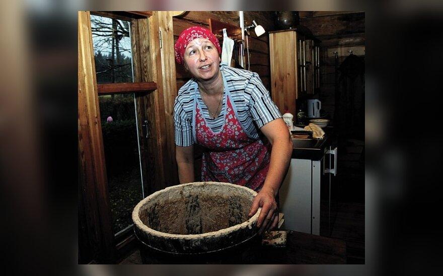 Rūta Sakalauskienė duoną kepa dar tik pusmetį, bet jau pelnė pripažinimą.
