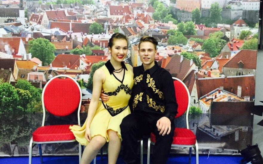 Taylor Tran ir Saulius Ambrulevičius