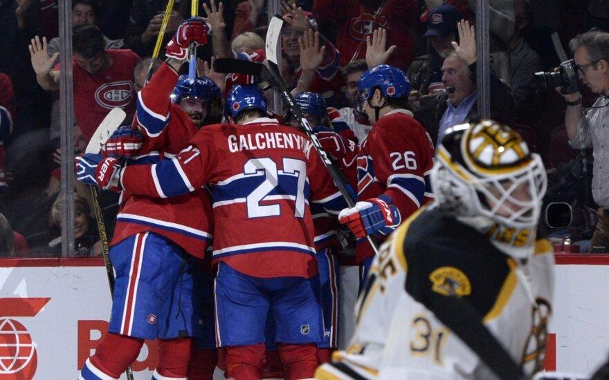 """""""Canadiens"""" ledo ritulininkai džiaugiasi"""