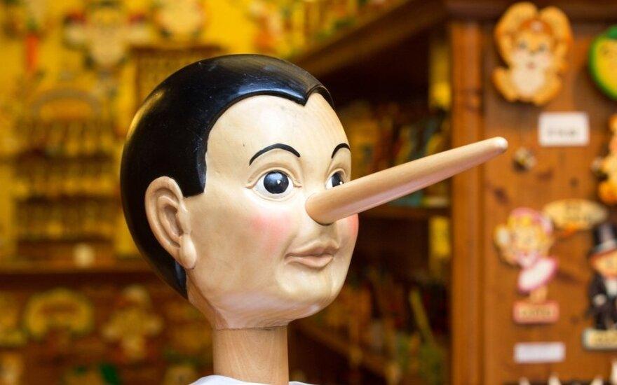 Psichologė: meluoja visi ir tai nėra taip jau blogai
