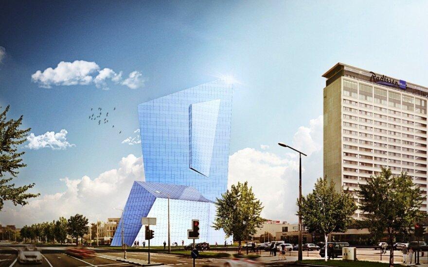 Vieno garsiausių pasaulio architektų studija pradeda pastato Vilniuje projektavimo darbus