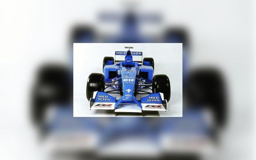 """Benetton Renault"" bolidas"