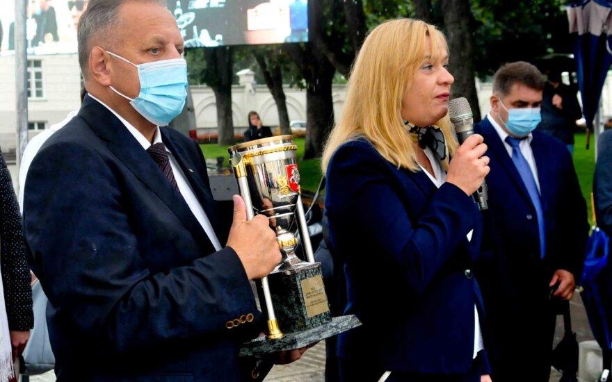 Prezidento taurę iškovojo Paulius Vasiliūnas su Ramūnu Giliumi