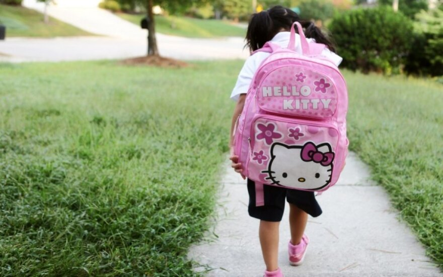 Kuprinę vaikui prekybininkai siūlo rinktis itin atidžiai