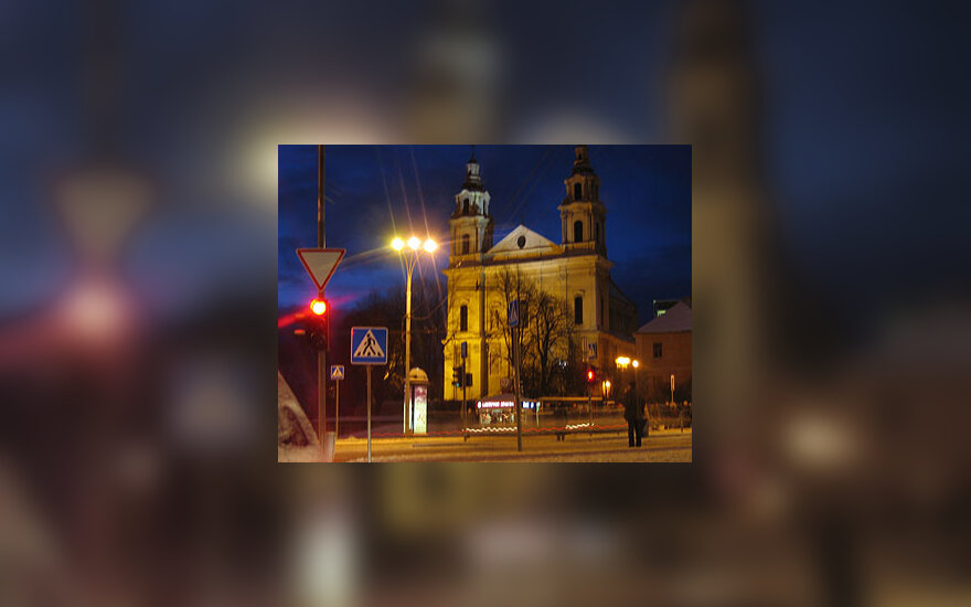 Vilnius vakare
