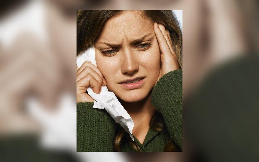 Ar ausų uždegimą gali sukelti perpūtimas?