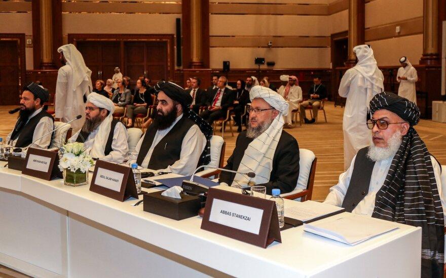 Afganistano taikos konferencija Dohoje