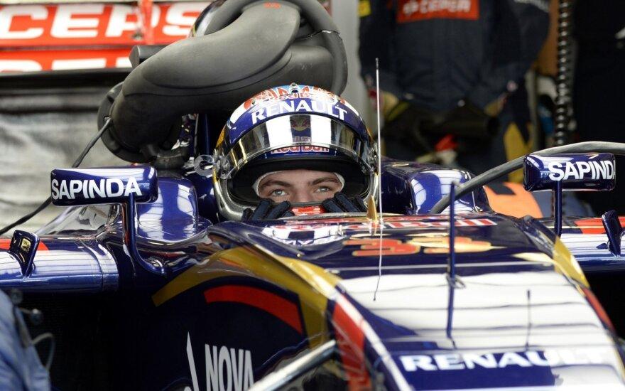 """""""Toro Rosso"""" komandos automobilis"""
