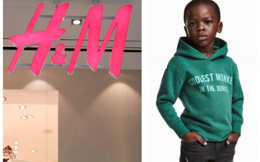 """""""H&M"""" pirkėjus įsiutino rasistine užuomina: teko atsiprašinėti"""
