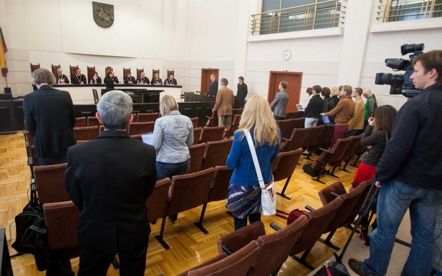 At Lithuania's Constitutional Court