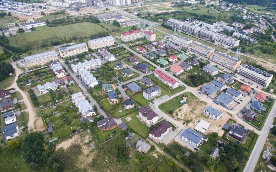 Vilniuje parduota mažiau būsto nei pernai