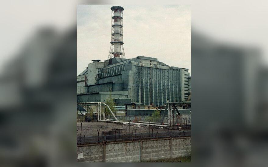 Sarkofagas, gaubiantis Černobylio ketvirtąjį reaktorių