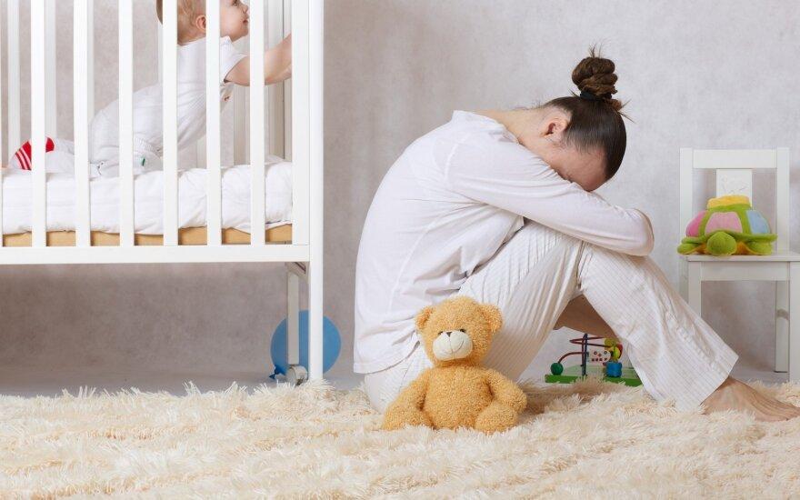 Pogimdyvinė depresija