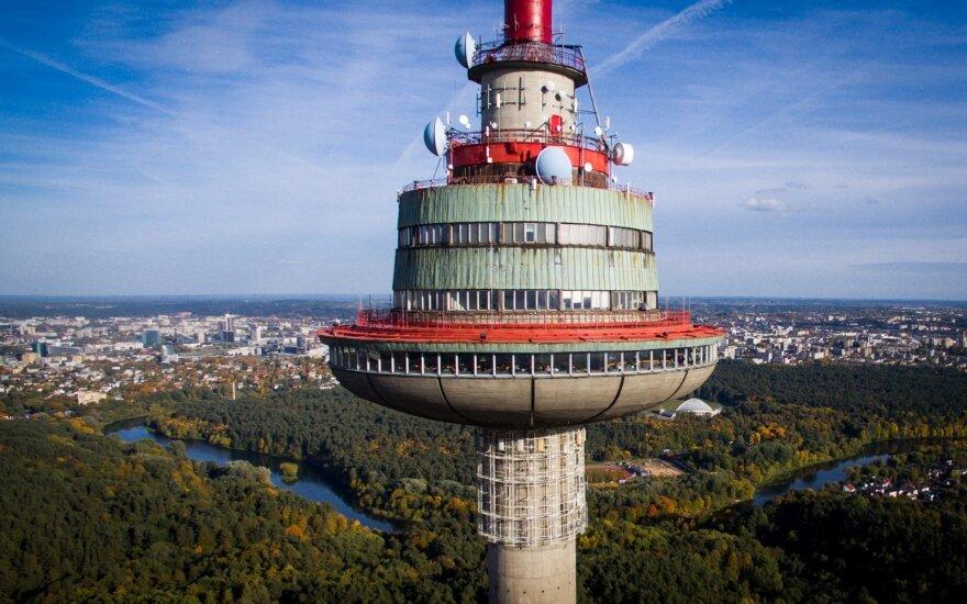 Prasidės Televizijos bokšto rekonstrukcija: aukščiausia Lietuvoje lauko terasa gali būti atidaryta jau kitą vasarą