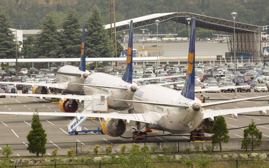 """""""737 Max"""" krizė: """"Boeing"""" pakeitė komercinių lėktuvų padalinio vadovą"""