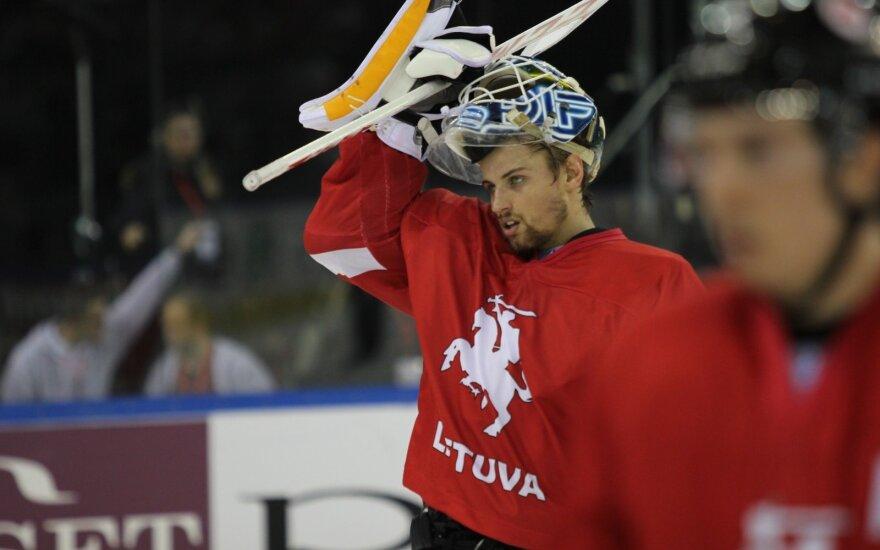 Dėl NHL svajonės M. Armalis nepadės Lietuvos rinktinei
