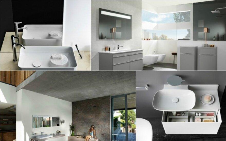 Vonios dizaino mados - tiesiai iš Frankfurto parodos