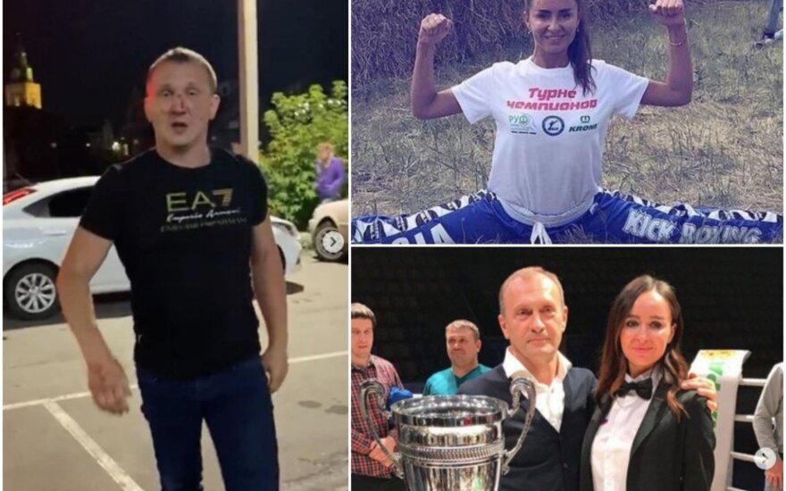 Michailas Starcevas (kairėje), Lilija Vorogušina (Foto: Instagram)