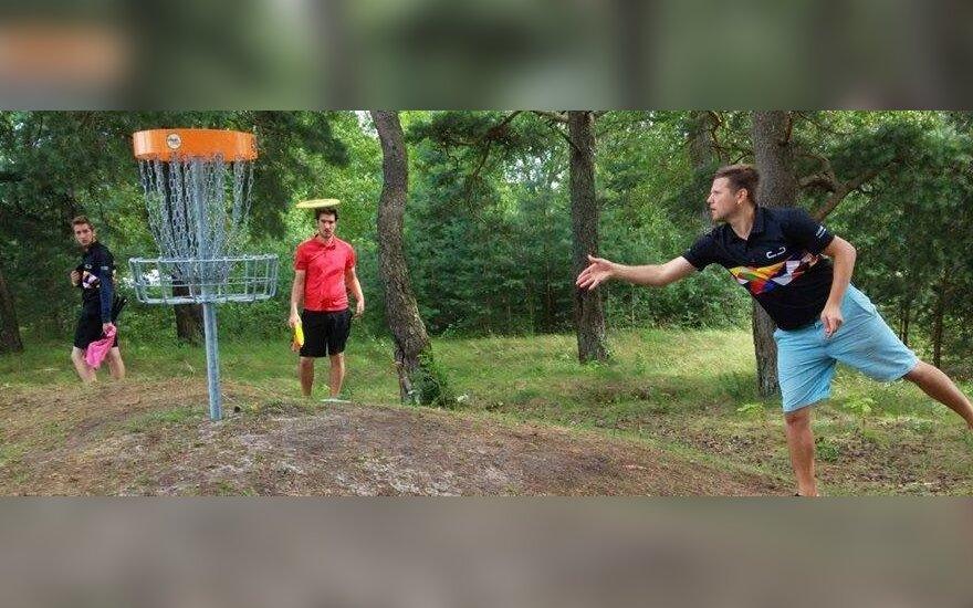 Diskgolfo turnyre Latvijoje – triguba lietuvių pergalė