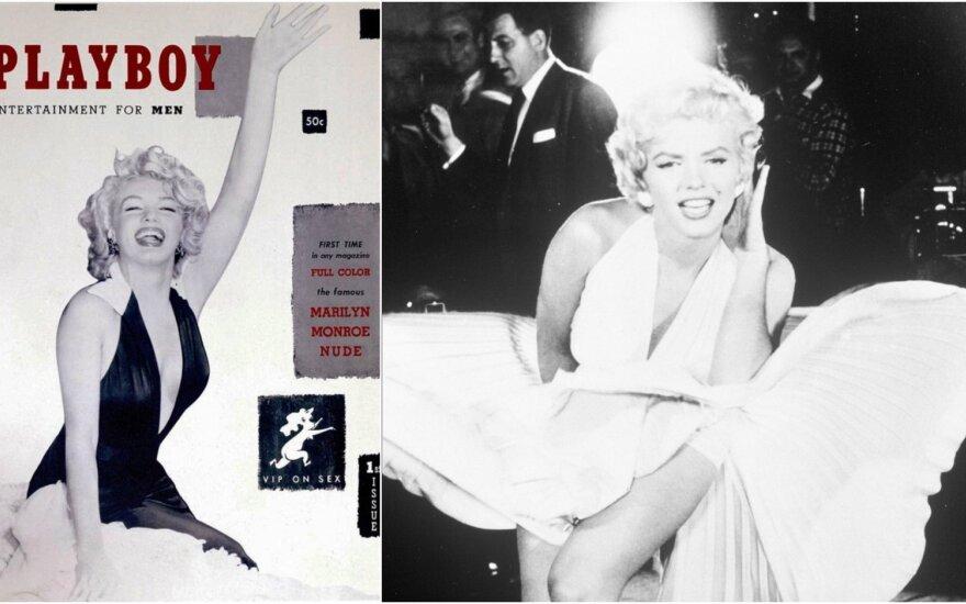 """Marilyn Monroe, pirmasis """"Playboy"""" viršelis"""