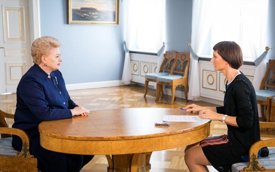 D. Grybauskaitė: nuo pat pirmo susitikimo su V. Putinu gavau Rusijos reikalavimų sąrašą