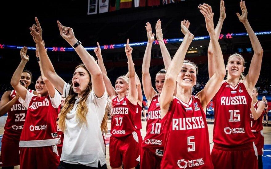 Rusijos moterų krepšinio rinktinė