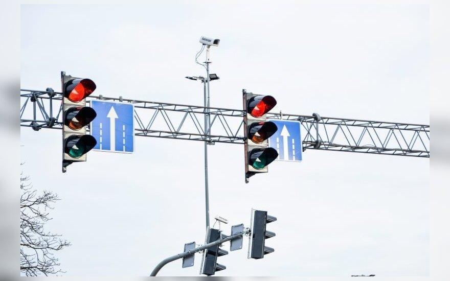 Marijampolėje jau veikia išmanusis šviesoforas