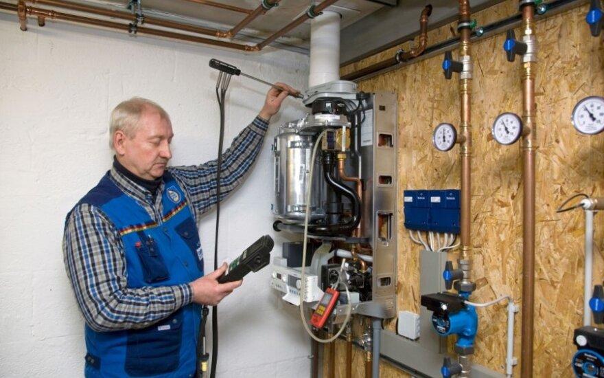Atliekant renovaciją galima pertvarkyti ir šildymo sistemą