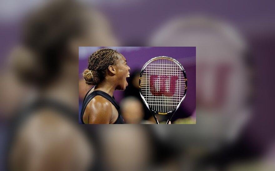 Dohos moterų teniso turnyrą laimėjo V.Williams