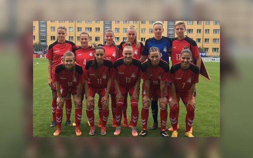 Lietuvos moterų rinktinė neprilygo Latvijai