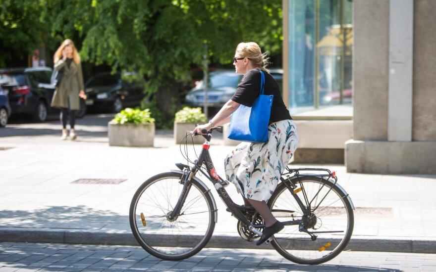 Ekspertai: chaosas – geriausias dviračių eismo Lietuvoje apibūdinimas
